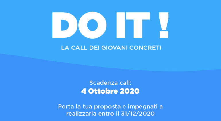 DO IT! La call dei giovani concreti