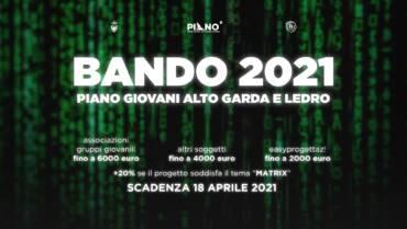 È USCITO IL BANDO 2021!